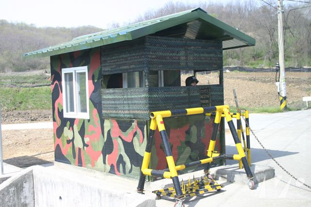Cabine d'observation militaire